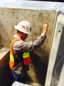 Gauging Concrete
